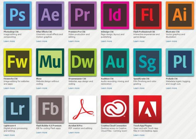 Adobe CC Tutorials – Leren & Ondersteuning / Learn & Support