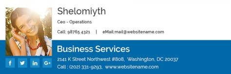 Een e-mail handtekening opmaken kan heel creatief. Online vind je veel voorbeelden.