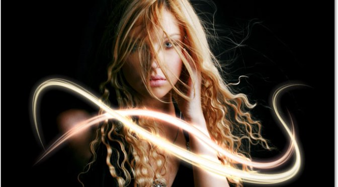 Add Light Streaks To A Photo With Photoshop