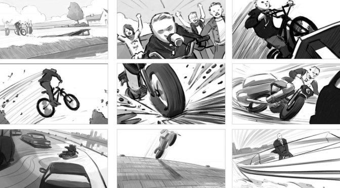 Storyboarding (Shootingboard)